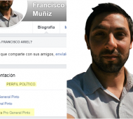 Perfil de Facebook de Muñiz: Se definía del PRO