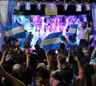 Pisano festejó en el Centro Cívico.