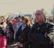 Pitrola y Del Plá encabezaron un acto en Moreno.