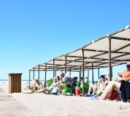 Unas 275 mil personas disfrutaron de la playa pública de Necochea