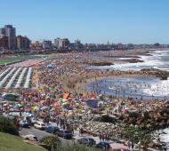 La costa atlántica es el destino favorito de los argentinos durante las vacaciones de verano.