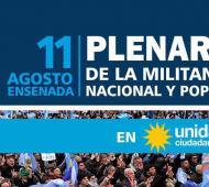 """Plenario de Unidad Ciudadana en Ensenada: El PJ bonaerense asistirá y remarca que """"el ajuste nos golpea a todos"""""""