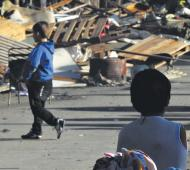 El estudio señaló que el 63,7% reside en viviendas sin cloacas o agua potable. Foto: Posición Adelantada