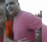 Monte Hermoso: Policía amenaza a turista y queda grabado en un video