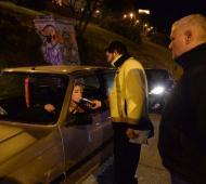 Mar del Plata: Secuestraron 46 vehículos en un control de alcoholemia en Varese