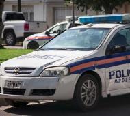 La mujer policía quedó detenida. Foto: 0223