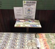 Recuperan millonario botín y detienen a dos delincuentes tras allanamientos en La Matanza y San Martín