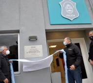 Zamora y Berni inauguraron la nueva sede de la Policía Local de Tigre