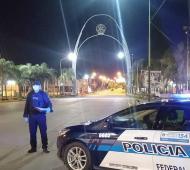 Hay controles policiales por toda la Provincia