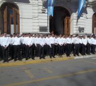 Ocurrió en la Academia de Policía local de Saladillo.