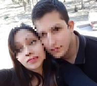 La pareja discutió a los tiros delante de su hijo.