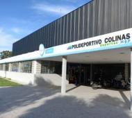 El polideportivos Colinas de Peralta Ramos puede ser un centro vacunatorio.