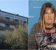 La jefa de terapia intensiva del Hospital Posadas, Constanza Arias.