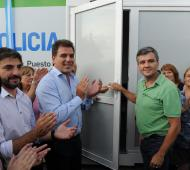 El acto fue encabezado por Zabaleta y Ritondo. Foto: La Noticia 1