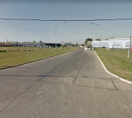Parque Industrial de Pergamino. (Google Street View)
