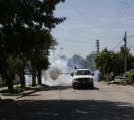 Operativos para prevenir en dengue en distintos barrios locales