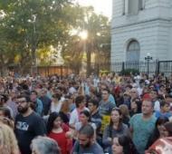 En Zárate marcharon para pedir justicia. Foto: Parlamentario