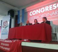 El congreso del PS bonaerense se realizó en Vicente López.
