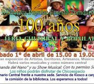 El flyer del evento.