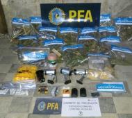 Punta Alta: Tenía una plantación de marihuana al lado de un Juzgado de paz