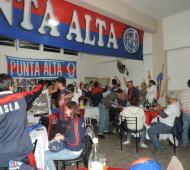 """Los """"Cuervos de Punta Alta"""" se preparan para la fiesta."""