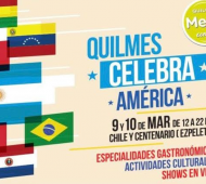 """""""Quilmes celebra América"""" en Ezpeleta stel fin de semana"""
