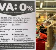 Vence quita del IVA a alimentos: Habrá subas de hasta el 10%