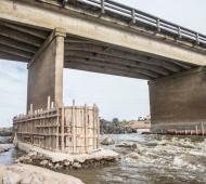 Habilitan tránsito pesado en Ruta 3 entre Las Flores y Monte luego de la restricción para arreglar un puente
