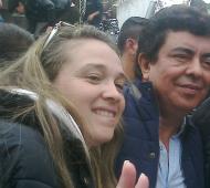 María Laura Ramírez y Fernando Espinoza se enfrentarán como precandidatos a concejal (Archivo)