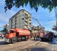 Trágico incendio en Ramos Mejía (Foto: El1digital)