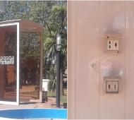 Ranchos: Cargadores públicos en plaza de Mayo para dispositivos móviles
