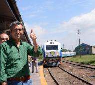 Randazzo encabezó la actividad junto al intendente local, Juan Gobbi.
