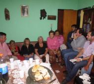 El Frente Renovador mercedino difundió la reunión con vecinos.