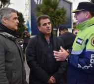 """Ritondo supervisó el """"Operativo invierno"""" desplegado en la costa bonaerense para las vacaciones"""