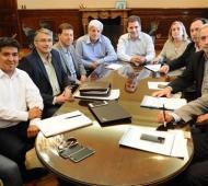 Ritondo se reunión con intendentes massistas.