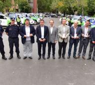 Ritondo entregó patrulleros para seis municipios.