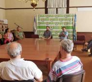 La iniciativa surge tras una reunión con vecinos por el incremento de tarifas.Foto: Prensa
