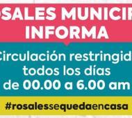 Coronavirus en Coronel Rosales: Se restringe la circulación en el distrito de 0 a 6 horas por la suba de casos