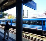 Las líneas de trenes normalizan sus servicios. Foto: Prensa