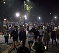 Una multitud se aglomeró en las plazas de la Ciudad