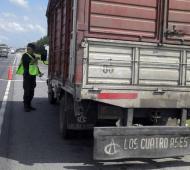 El camionero conducía con 2,29 gramos de alcohol en sangre.