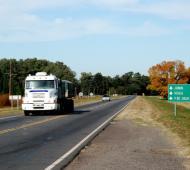 La Ruta 188 comienza en San Nicolás y termina en la provincia de Mendoza