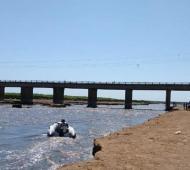 Corte en Ruta 3 por reparación del puente sobre el Río Salado entre Monte y Las Flores