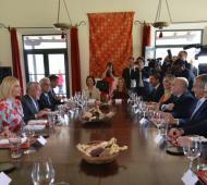 Ivanka Trump estuvo en Jujuy con funcionarios nacionales.