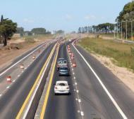 Alberto Fernández inaugura tramo de autopista Junín - Chacabuco en ruta 7
