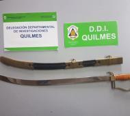 LA pieza de gran valor histórico robada en octubre del 2012. Foto: Prensa