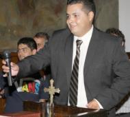 Cristian Salinas renunció a su cargo como concejal.