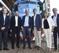 Urtubey formalizó anuncios en materia ferroviaria.