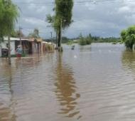 La inundación en Salto alcanzó su máximo histórico. Foto: Salto en red.