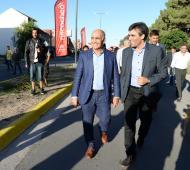 """""""El populismo está al acecho"""", advirtió Daniel Salvador en recorrida por Necochea"""